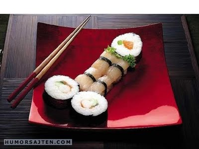 Have a . . . sushi, please! :D